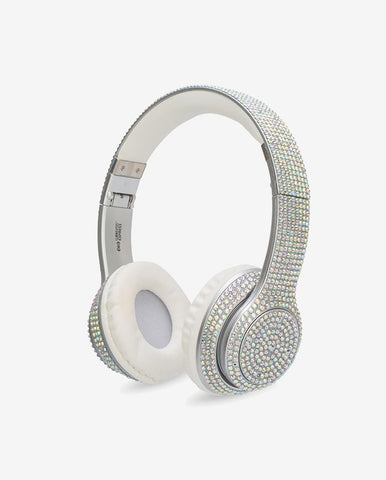 Bluetooth Stereo Iridescent Bling Headphones