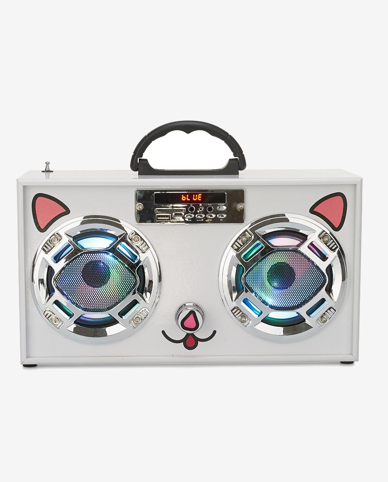 Retro Cat Mini Boombox