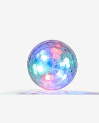 USB Disco Ball Attachment for Sing-along Karaoke Microphone