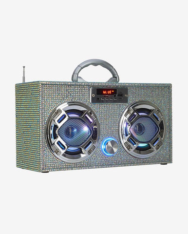 Bling Edition Mini Boombox