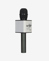 Party 2 Go Black Karaoke Microphone & Disco Ball Combo