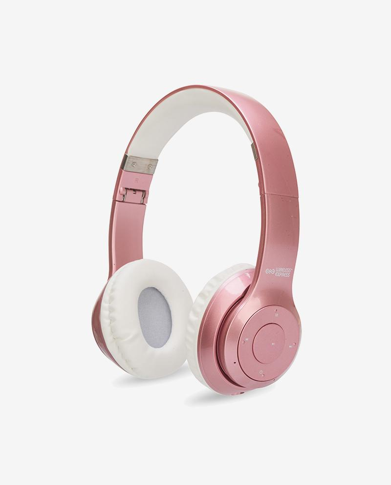 Bluetooth Stereo Rose Gold Fashion Headphones