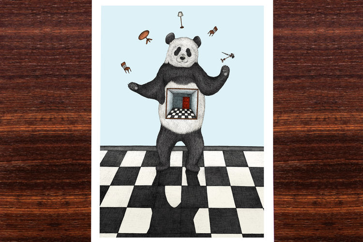 The Juggling Panda