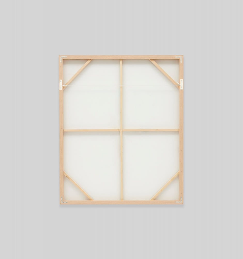 Delicate Outline Framed Canvas