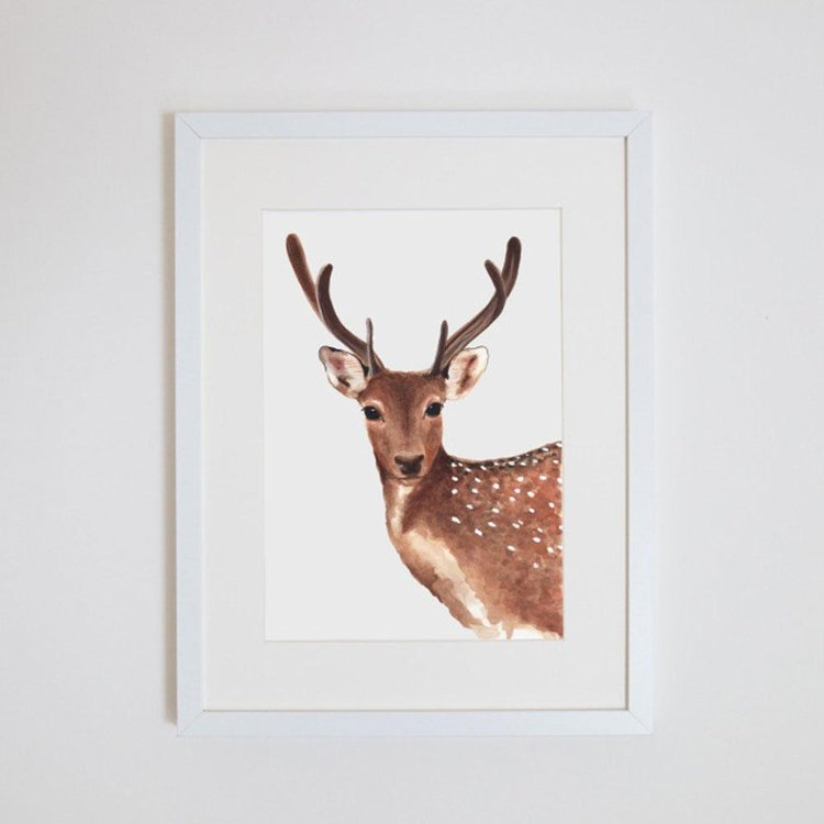 Dotty The Deer Print