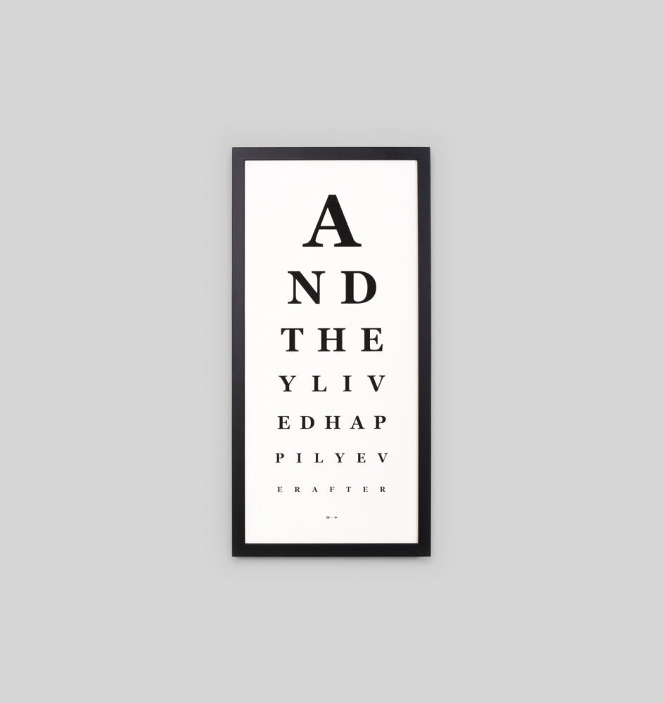 Ever After Eye Chart