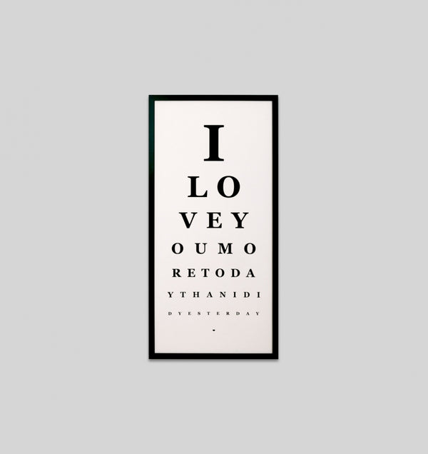 More Today Eye Chart