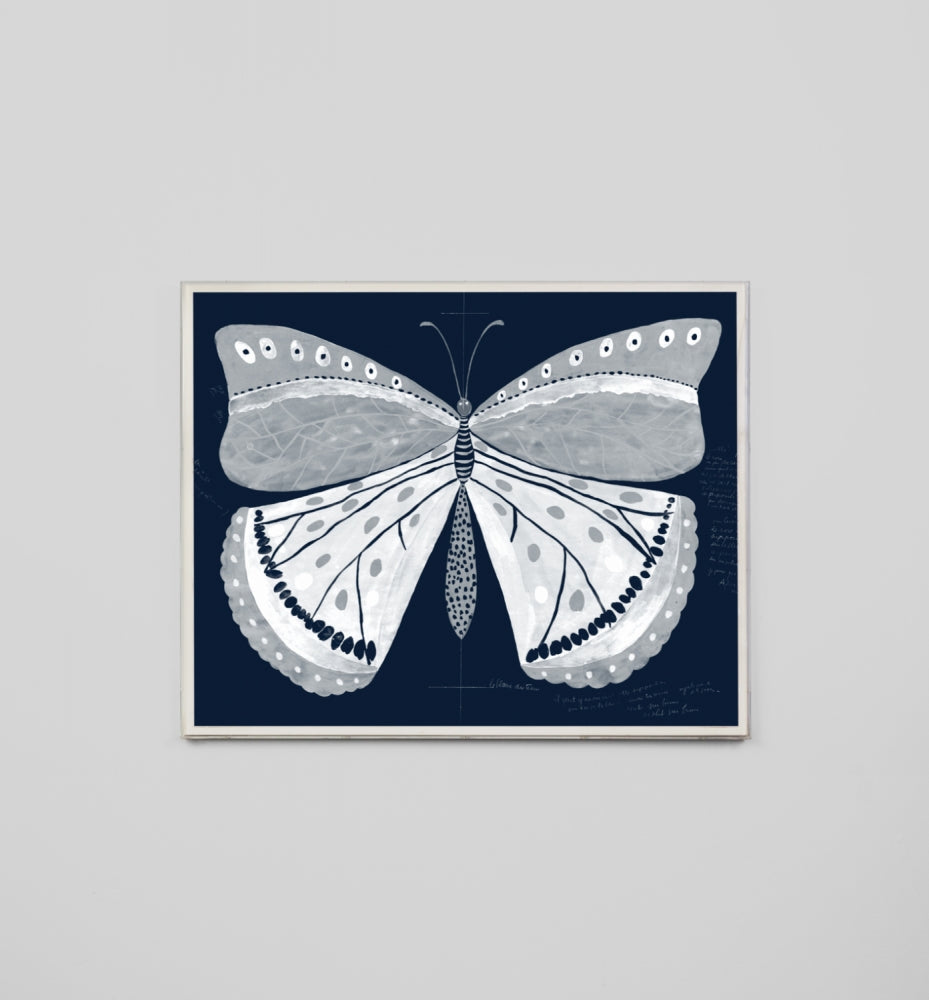 Papillon Navy 1 Large