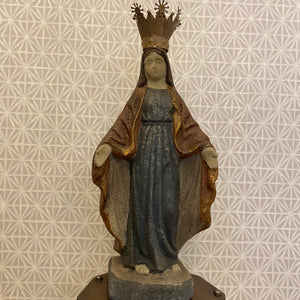 Mary Statue W/ Crown
