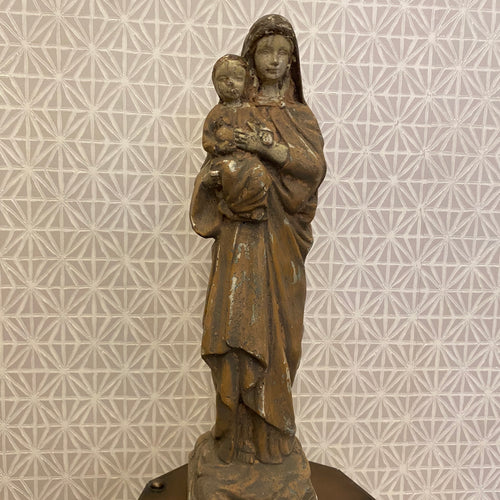 Mary & Child Statue