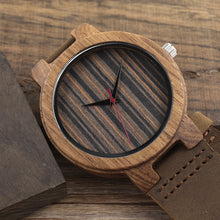Load image into Gallery viewer, C17 Men's Wooden Quartz Watch - gutkaufen.net