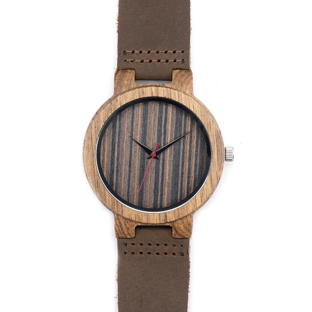C17 Men's Wooden Quartz Watch - gutkaufen.net