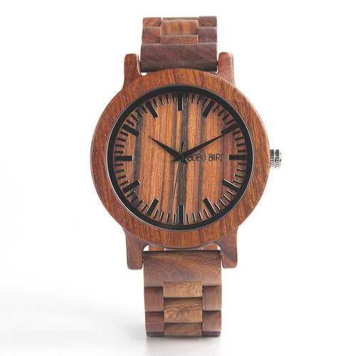 M10 Handmade Men Wooden Luxury Watch - gutkaufen.net
