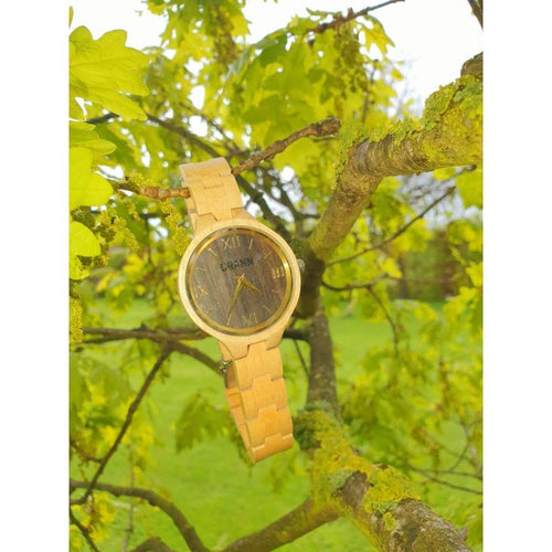 Saoirse Wooden Watch - gutkaufen.net