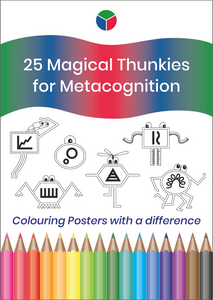 25 Magical Thunkies for Metacognition - Colouring Posters