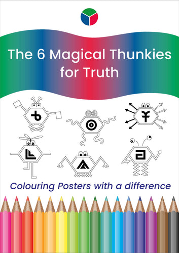 Red Thunkies Colouring Posters
