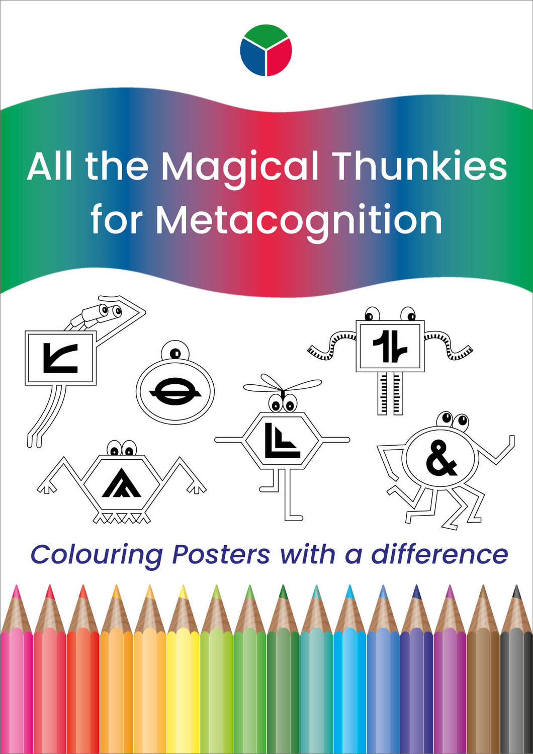 All the Magical Thunkies Colouring Posters
