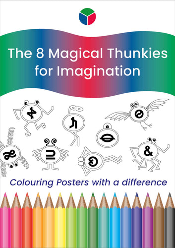 Green Thunkies Colouring Posters