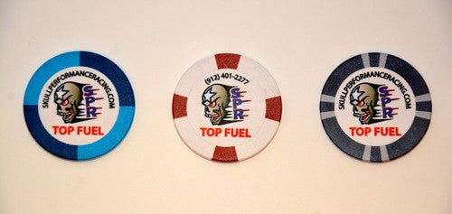Series 1 Collectible Top Fuel Poker Chips