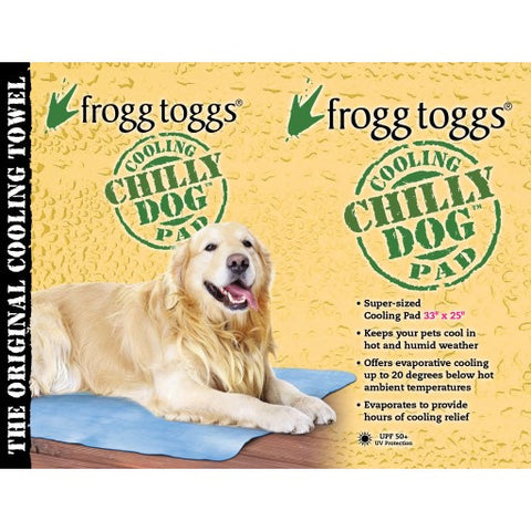Large Chilly Pad Cooling Towel Safe for Pets and Humans