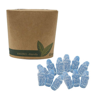 Vegan Fizzy Blue Babies  in Bio-Degradable / Compostable Packaging