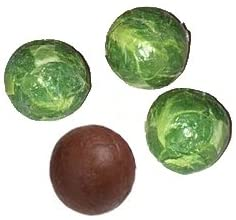 Milk Chocolate Christmas Brussel Sprouts Balls