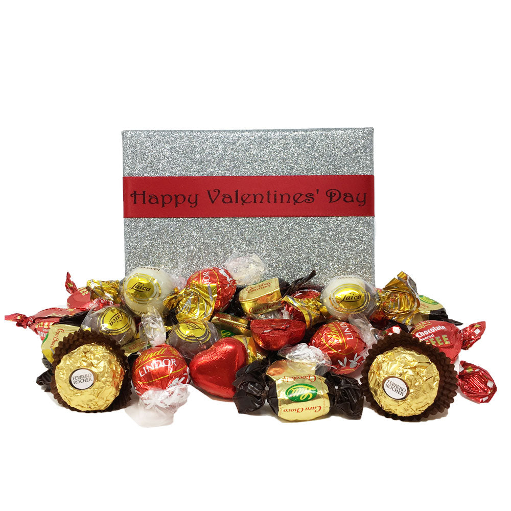 Luxury Valentine's Day Mix with Luxury Chocolates Sweet Assortment in a Box (300g)