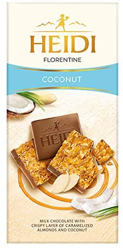 Heidi Chocolate Bars. Swiss Luxury Chocolate