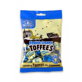 Walkers English Creamy Toffees