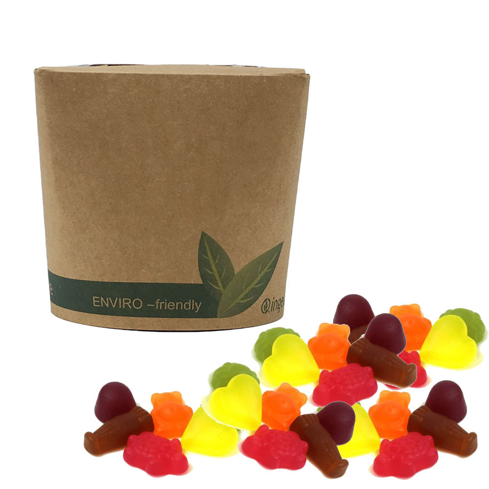 The Sweet Pack® Vegan Jelly Mini Mix in Bio-Degradable / Compostable Packaging