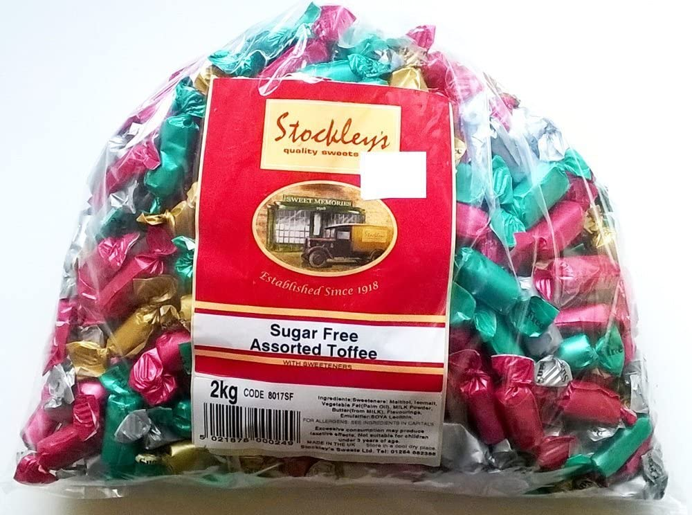 Stockleys SUGAR FREE Assorted Toffees