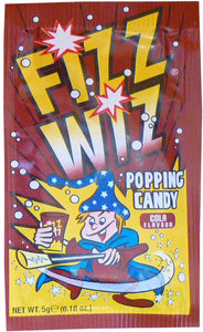 Fizz Wizz cola Flavour Popping Candy