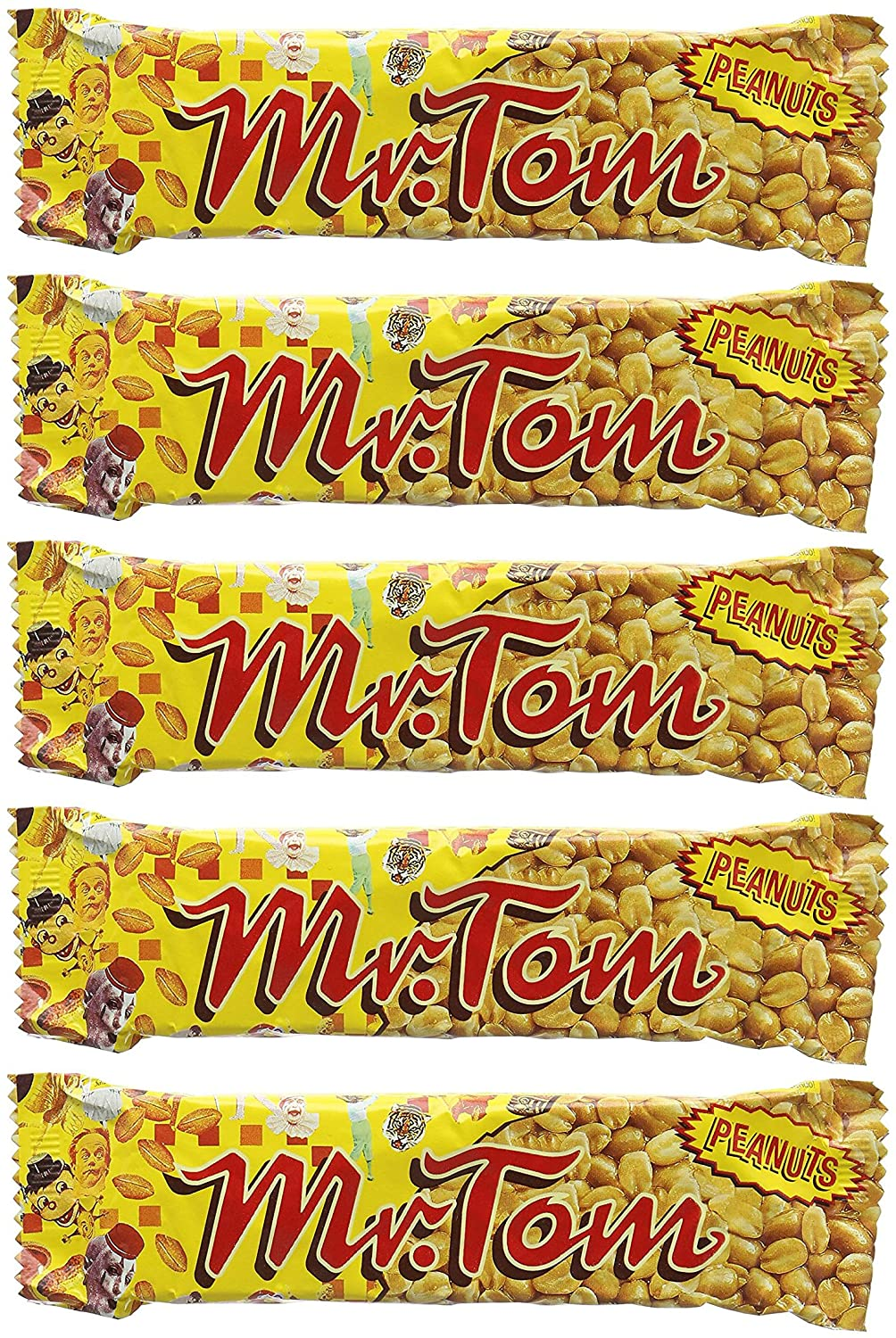 Mr Tom Peanut Crunch Bar