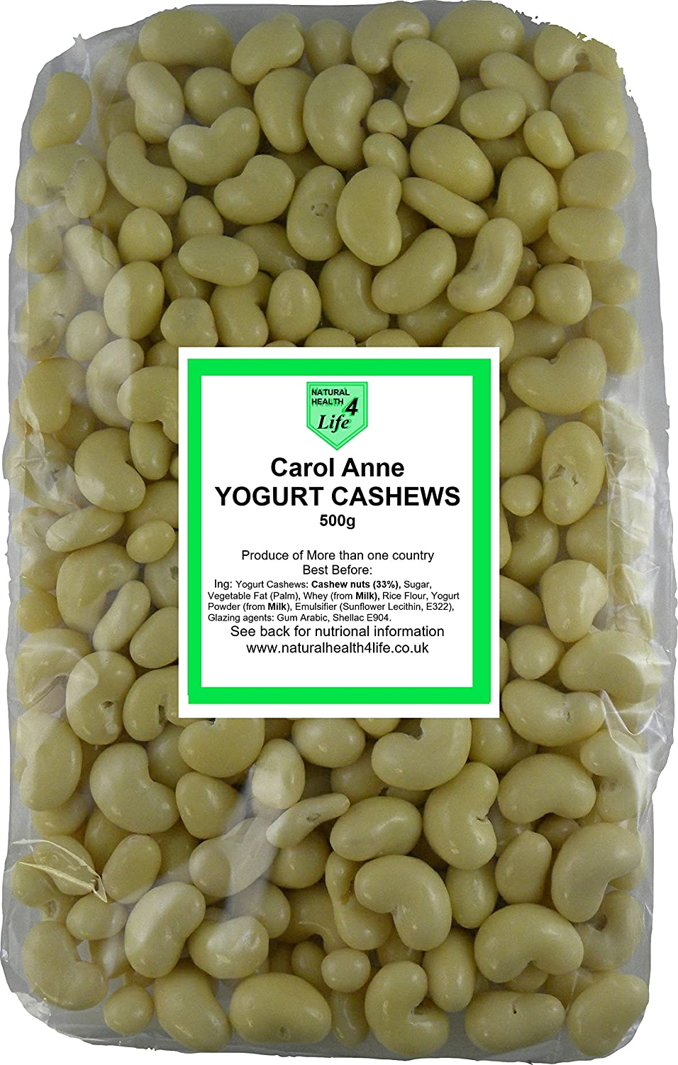 Carol Anne Yogurt Covered Cashews
