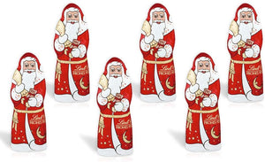 Mini Santa Luxury Chocolates x 6