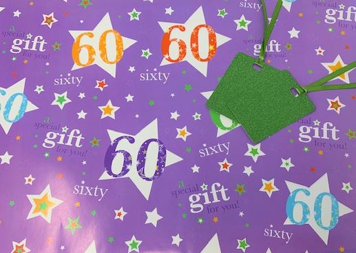Age Gift Wrap Male and Female