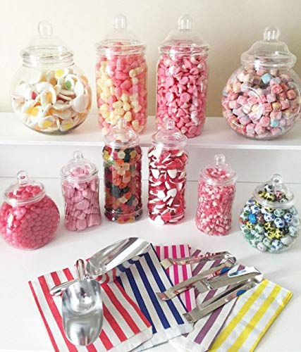 Baby Shower Candy Cart Sweet Stall Assorted Sweets, Jars, Bunting and Scoop
