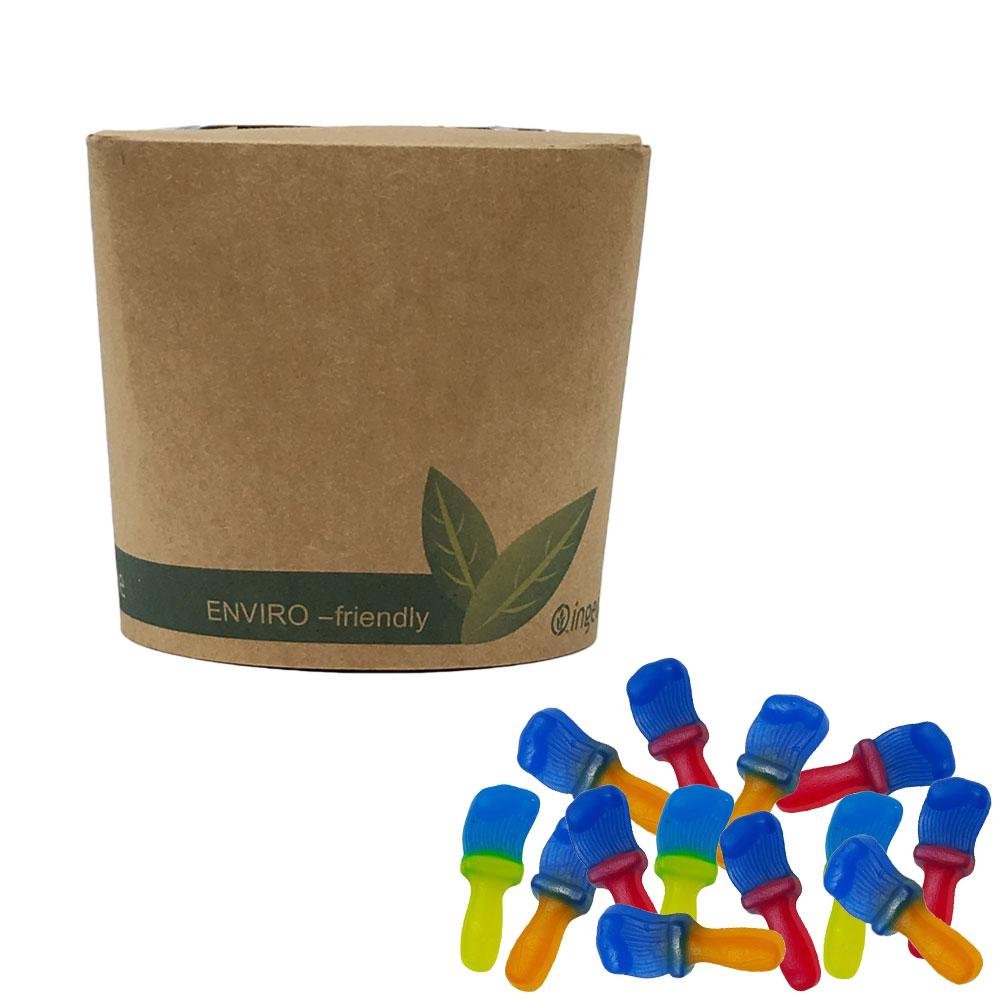 Vegan Tongue Painters  in Bio-Degradable / Compostable Packaging