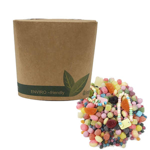 Vegan & Gluten Free Sweet Mix in Bio-Degradable / Compostable TUB