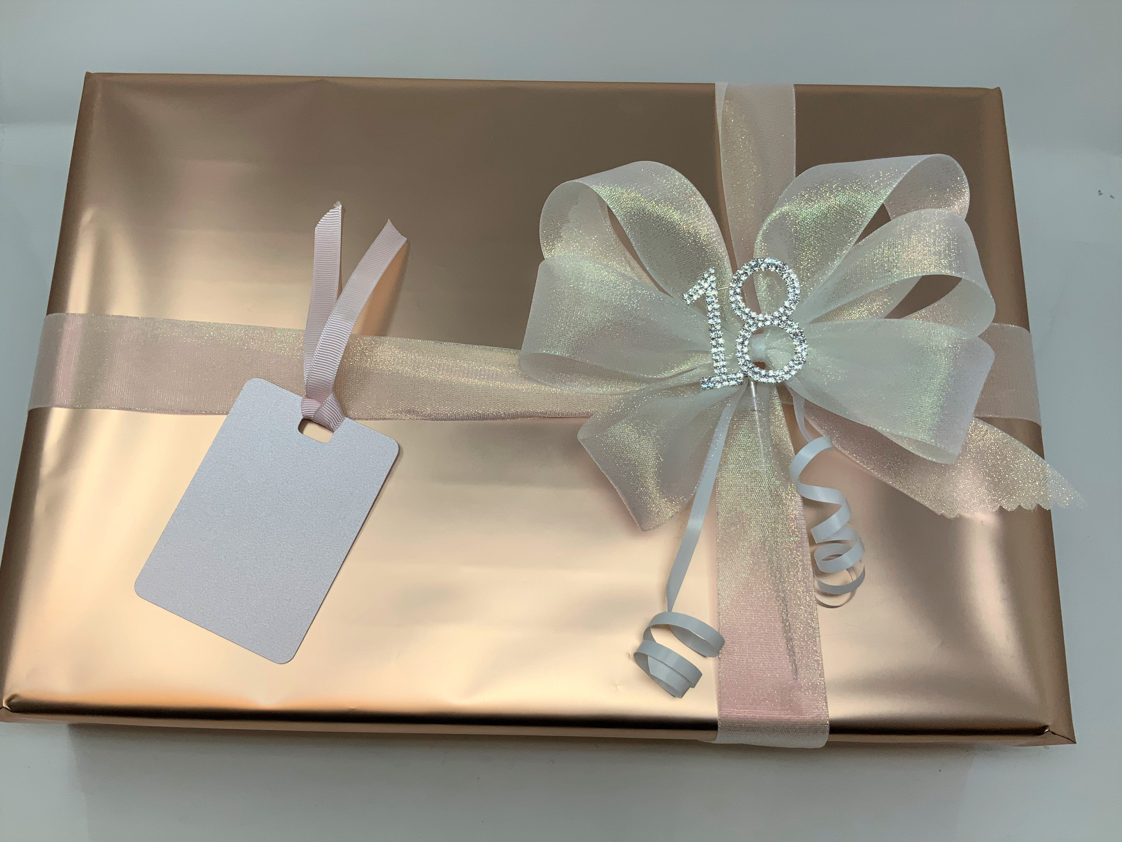 Gold Wrap and Gold Ribbon and Bow Pack