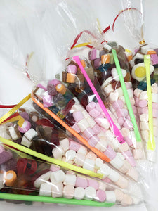 Mini Mallows and Jelly Sweets Child Friendly Sweet Cone A105