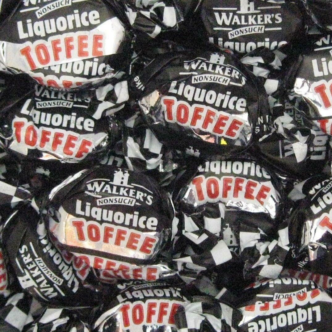 Walkers Liquorice Toffee