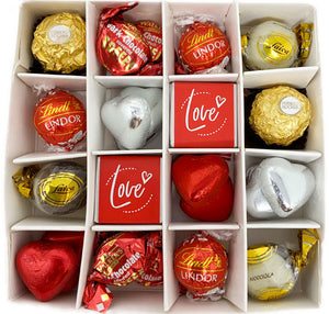 Adult's Sweet Valentine's Day Silver Gift Box