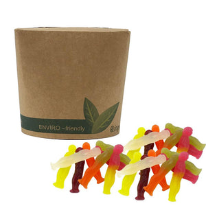 Vegan Jelly Meerkats in Bio-Degradable / Compostable Packaging