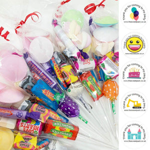 Retro Filled Sweet Cones with Free Stickers Castle A031