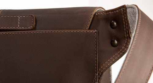 Full grain latigo saddle leather