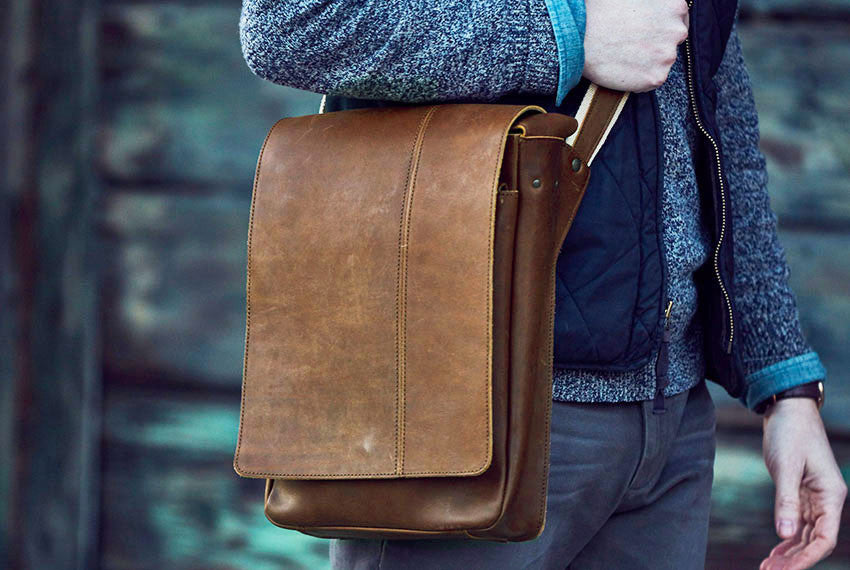 Adventure Leather Satchel Bag – The Intrepid Bag Co  18a2b841fd8ff