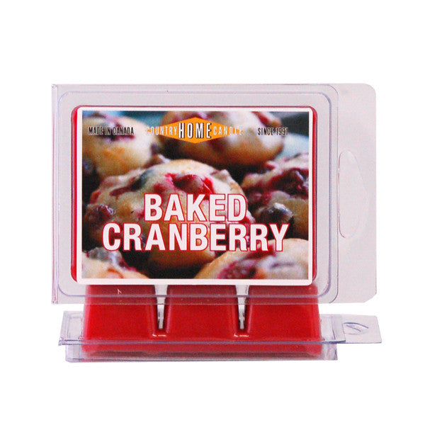 Baked Cranberry Scent Squares