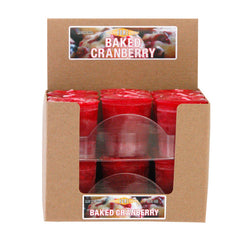 Baked Cranberry Votive Box