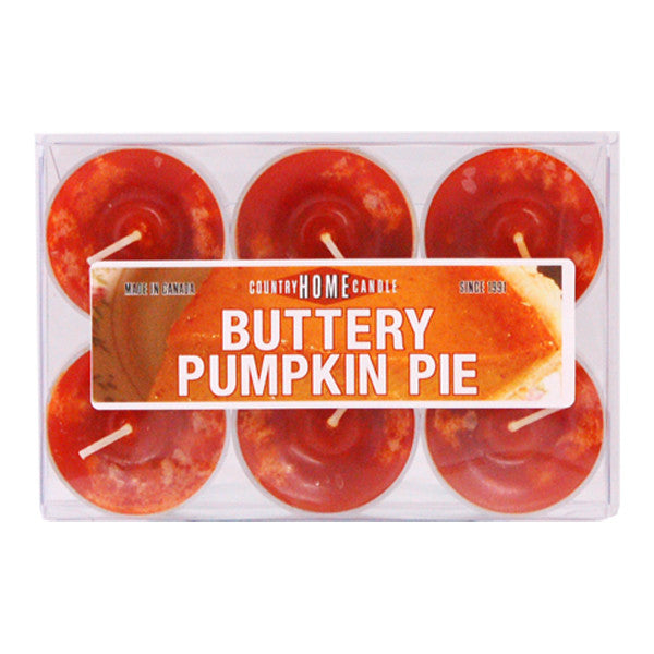 Buttery Pumpkin Pie Tealights